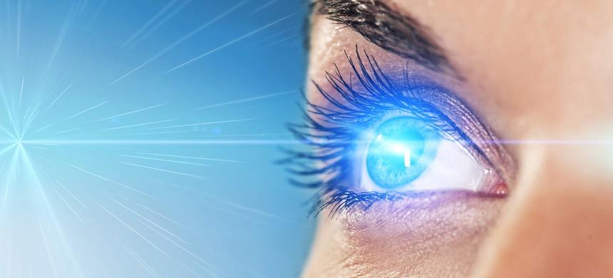 کاربرد لیزر در جراحی چشم،Eye