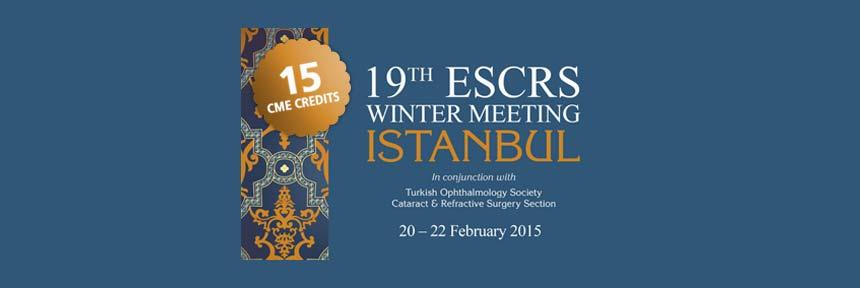 دریافت جایزه از ESCRS