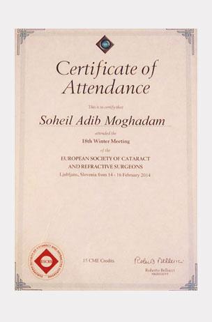 certificate،گواهینامه